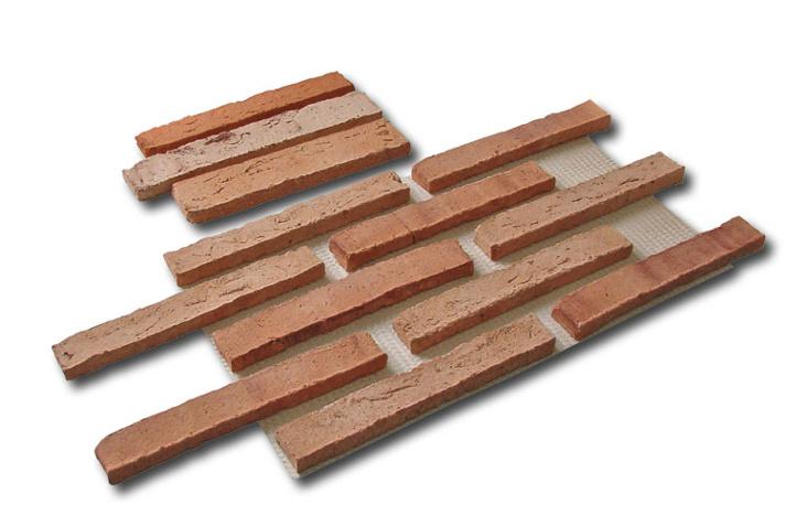 Plaquetas De Ladrillo Rusticos La Mancha Ceramica Mateo - Revestimiento-de-ladrillo