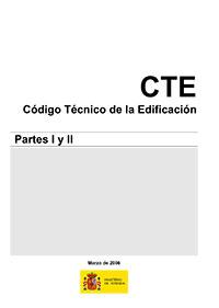 CTE codigo técnico edificación